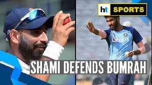 'How can you forget..': Mohammed Shami slams Jasprit Bumrah's critics [Video]