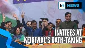 Arvind Kejriwal swearing-in: From teachers to farmers, Sisodia lists invitees [Video]