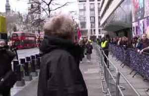 Extinction Rebellion disrupts London Fashion Week