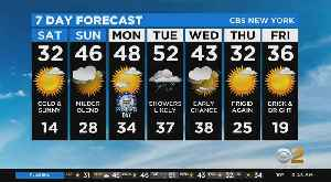 News video: New York Weather: 2/15 CBS2 Saturday Afternoon Weather Headlines