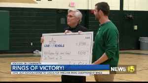10K Grant Awarded to Acadiana High Wreckin' Rams' [Video]