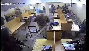 Shocking moment Indian police attack university students inside library [Video]
