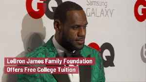 The LeBron James Family Foundation Is Creating Opportunities [Video]