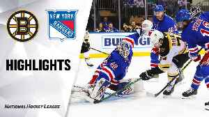 NHL Highlights | Bruins @ Rangers 2/16/20 [Video]