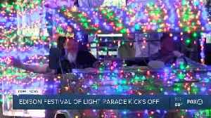 Edison Festival of Lights Parade kicks off [Video]