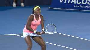 Coco Gauff wins Delray Beach Open match [Video]
