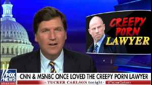 News video: Tucker Carlson: CNN and MSNBC once loved convicted felon Michael Avenatti