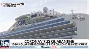 News video: Quarantined cruise ship passenger opposes US coronavirus evacuation plan