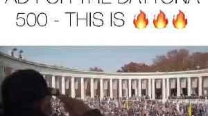 Trump Daytona 500 ad [Video]