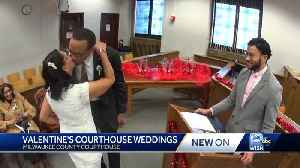 Love is in the air at Milwaukee County Courthouse [Video]