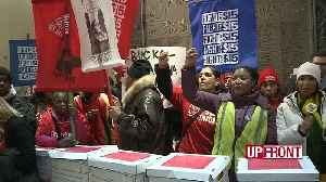 Workers call for higher minimum wage [Video]