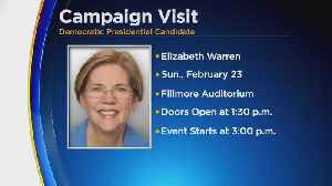 Denver To Host Elizabeth Warren On Campaign Stop [Video]