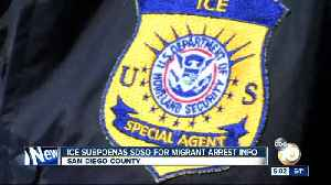 ICE subpoenas SDSO for migrant arrest information [Video]