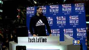 NBA All-Star Media Day Draws Huge Crowds [Video]