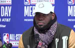 NBA All-Star captains LeBron, Giannis excited for game but missing Kobe [Video]