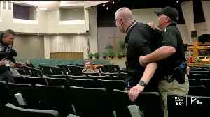 Church Holds Active Shooter Training [Video]