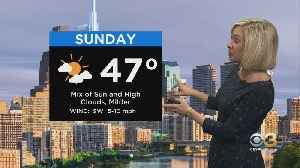 Philadelphia Weather: Not As Cold On Sunday [Video]