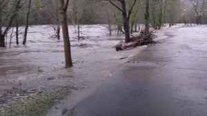 Storm Dennis: River Taff bursts its banks in South Wales [Video]