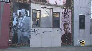 Outrage In North Philadelphia After Mural Honoring Civil Rights Activist Cecil B. Moore Defaced With Racial Graffiti [Video]