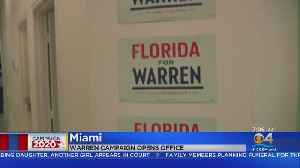 Sen. Elizabeth Warren's Campaign Opens Second Field Office In Miami [Video]