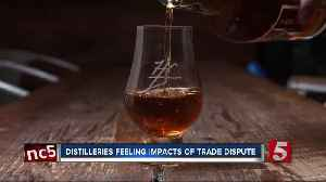 Whiskey exports fall as Tennessee distilleries feel impact of trade dispute [Video]
