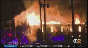 Fire Destroys Baptist Church In Elizabeth, New Jersey [Video]