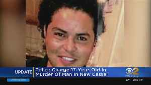 Police Charge 17-Year-Old In Murder Of Man In New Cassel [Video]