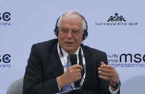 'Europe has to develop an appetite for power,' says the EU's Borrell.