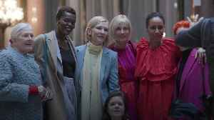Cate Blanchett among stars to turn out for the Roksanda show at LFW 2020 [Video]