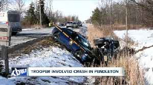 New York State police investigating trooper-involved crash in Pendleton [Video]