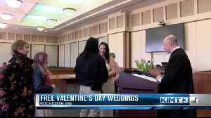 Valentine's Day Weddings [Video]