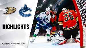 NHL Highlights | Ducks @ Canucks 2/16/20 [Video]