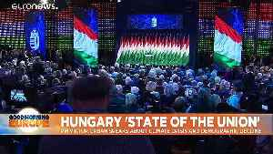 Hungary's Orban lashes out at slow EU growth, 'sinister menaces' and George Soros [Video]