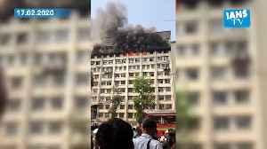 Fire in Mumbai GST Bhavan [Video]