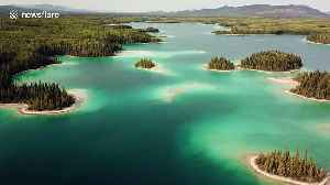 Stunning Caribbean-esque lake is actually located in northern Canada [Video]