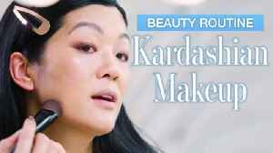 Beauty Expert Tries Kim Kardashian's Everyday Makeup Tutorial in 28 Minutes [Video]