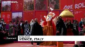 Thousands watch 'flight of angel' at Venice carnival [Video]