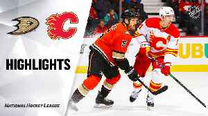 NHL Highlights | Ducks @ Flames 2/17/20 [Video]