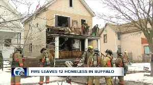 Twelve being assisted by Red Cross following fire on Fillmore Avenue [Video]