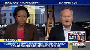 Michael Bloomberg's campaign adviser is grilled on MSNBC [Video]