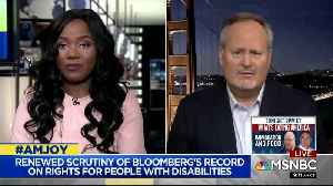 Michael Bloomberg adviser grilled about his past vis-a-vis disability rights [Video]