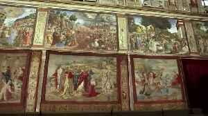 All Raphael's tapestries return to Sistine Chapel [Video]