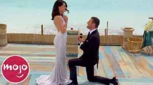 Top 10 Romantic Proposals on The Bachelor [Video]