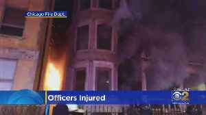 3 Chicago Police Officers Hurt In Bronzeville Fire [Video]