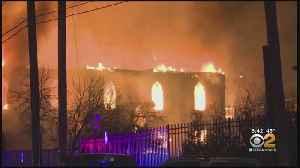 Elizabeth, N.J. Baptist Church Burns Down [Video]