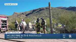 Rural Metro Fire battles house fire near Catalina Foothills [Video]
