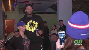 Mike Scott Hosts Fan Appreciation Night At North Bowl In Northern Liberties [Video]
