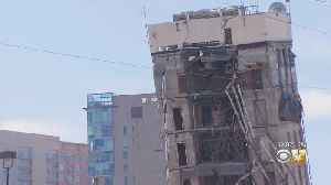 Leaning Tower Of Dallas: Implosion Fails To Take Down Uptown Office Building [Video]