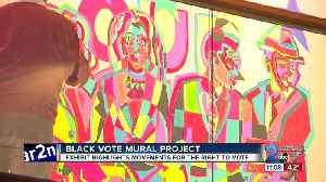 Black Vote Mural Project exhibit highlights movements for the right to vote [Video]