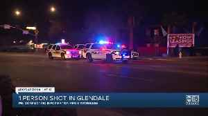 One person shot in Glendale [Video]
